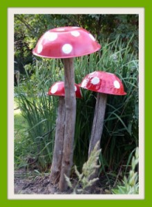 mushroom whimsy
