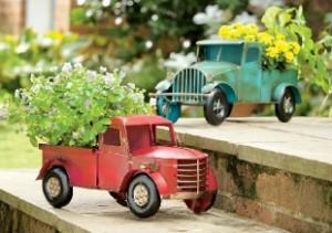 vintage truck planters